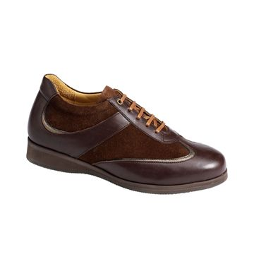 Picture of Dress Shoes with Nubuck - Lace - 3461