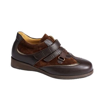 Picture of Dress Shoes with Nubuck - Velcro - 3471
