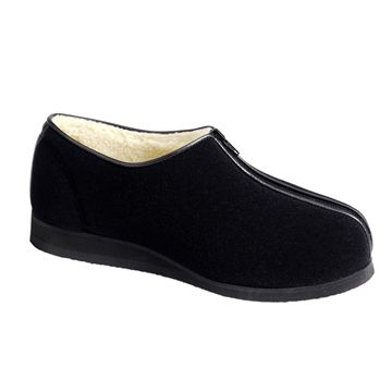 Picture of Fleece Lined Chair Shoes - Zip - 3404